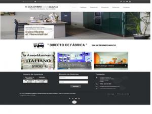 Diseño Web ColombiniCasa Bilbao - Frikitek