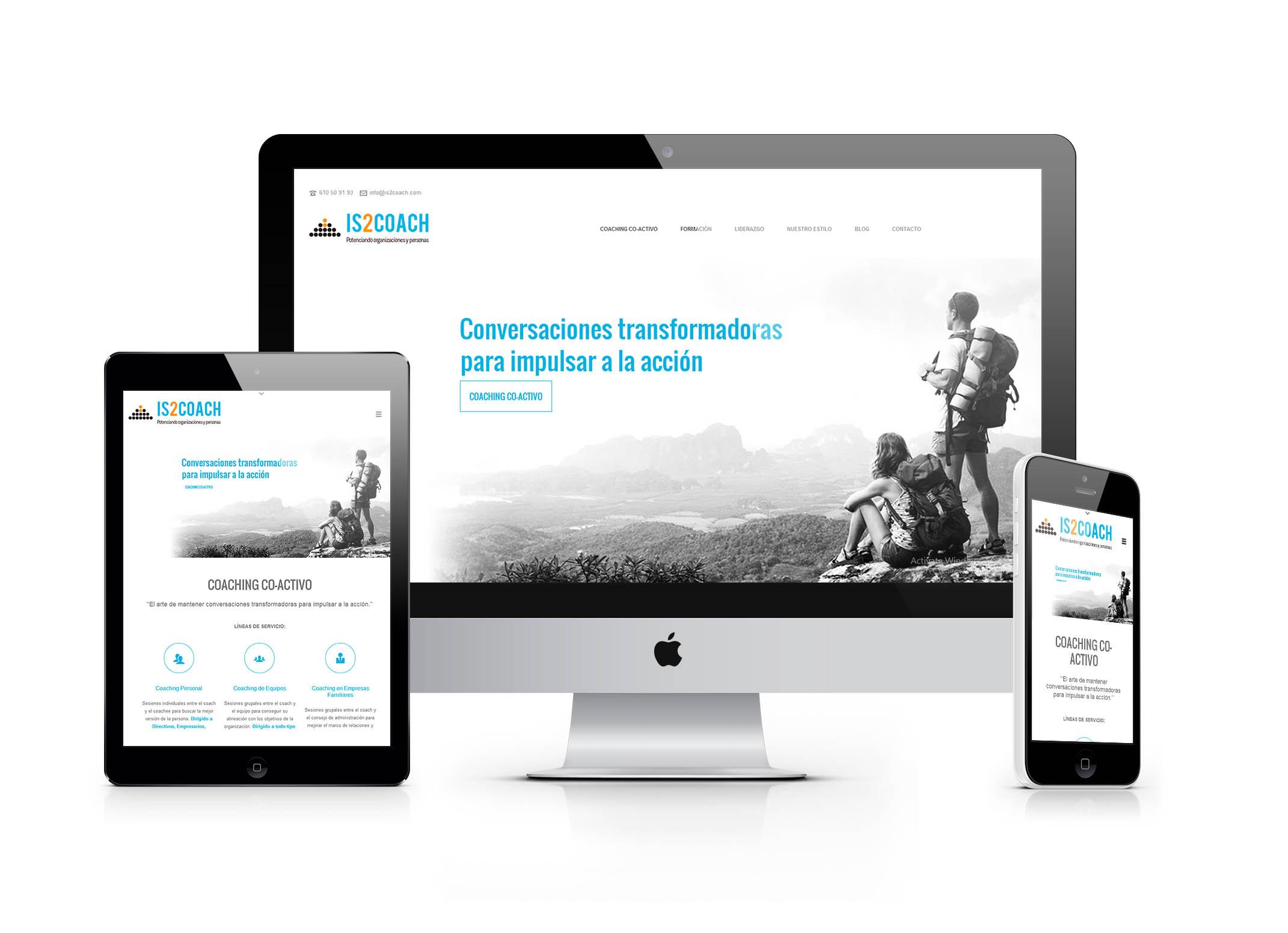 Diseño Web Responive hecho por Frikitek
