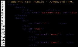 Código Fuente representa Realización técnica de frikitek